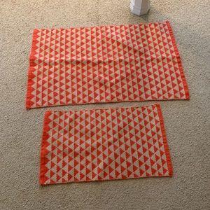 Geometric matching rug set